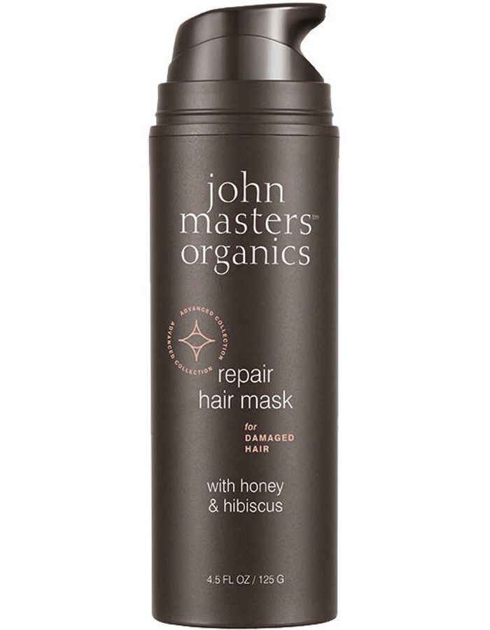 John Masters Organics Repair Hair Mask Damaged Hair Honey & Hibiscus 125gr