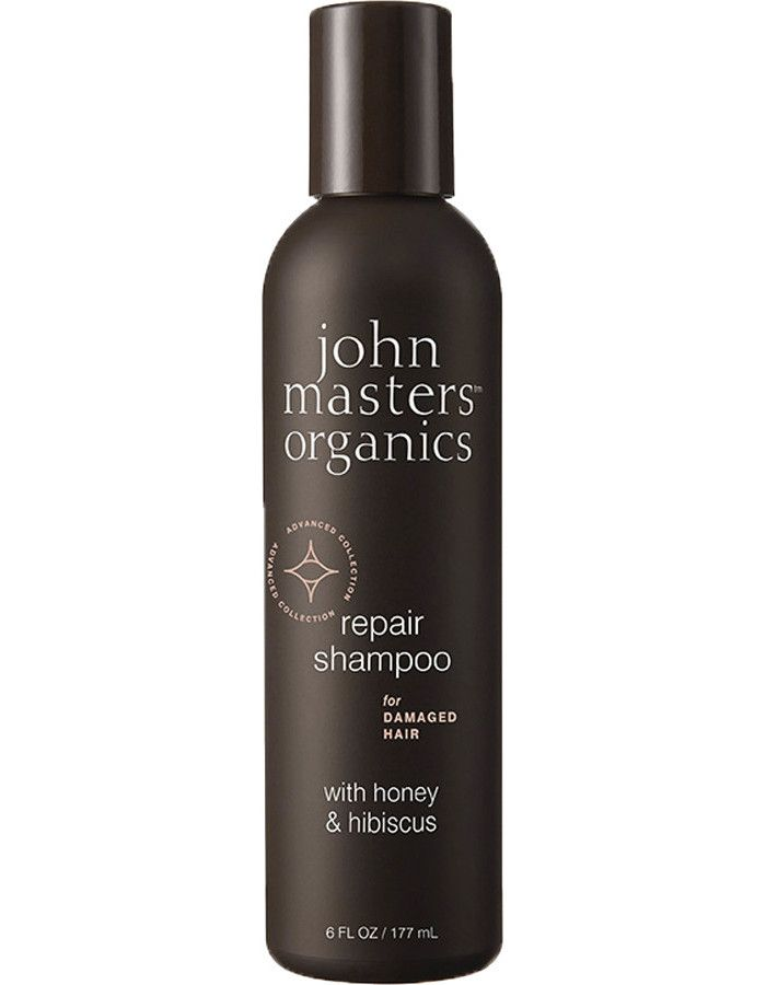 John Masters Organics Repair Shampoo Damaged Hair Honey & Hibiscus 177ml