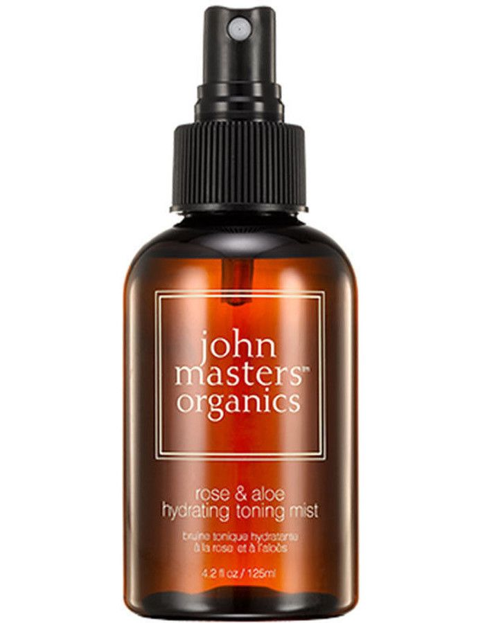John Masters Organics Rose & Aloe Hydrating Toning Mist 125ml