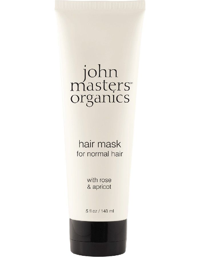 John Masters Organics Hair Mask Normal Hair Rose & Apricot 148ml