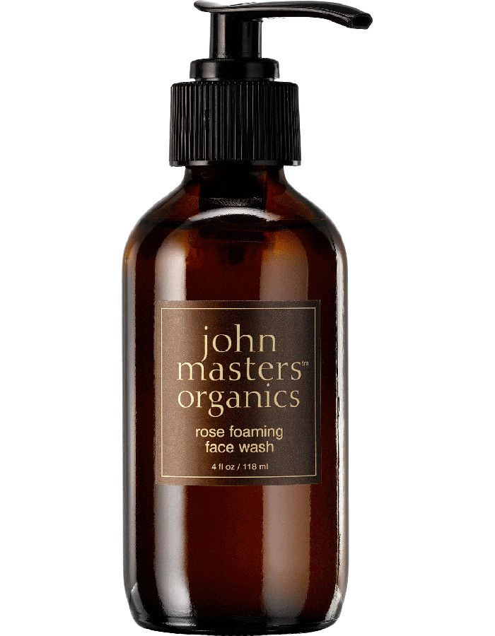 John Masters Organics Rose Foaming Face Wash 118ml