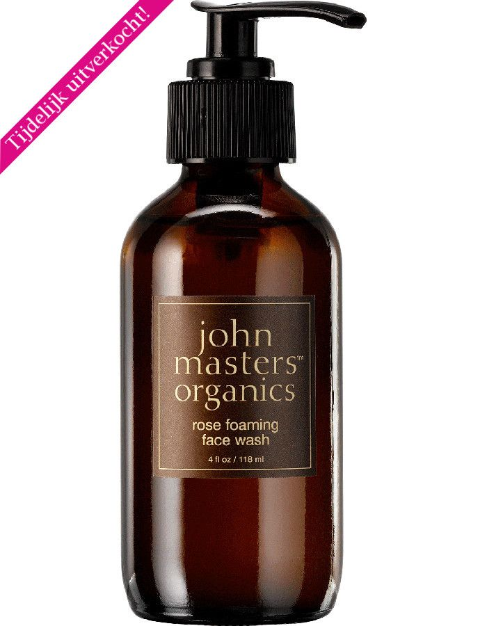 John Masters Organics Rose Foaming Face Wash 118ml