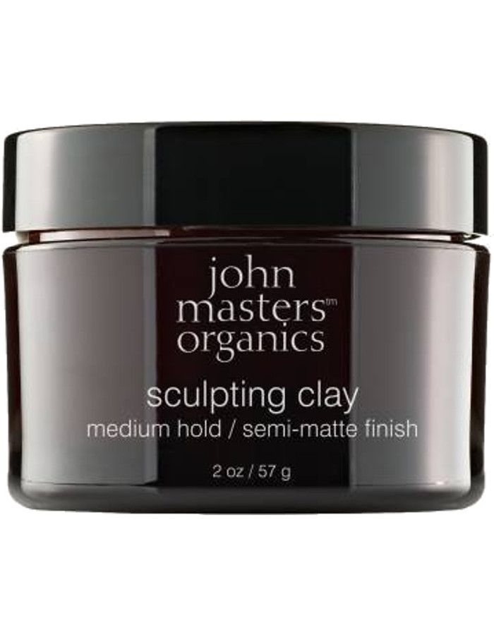 John Masters Organics Sculpting Clay Medium Hold 57gr