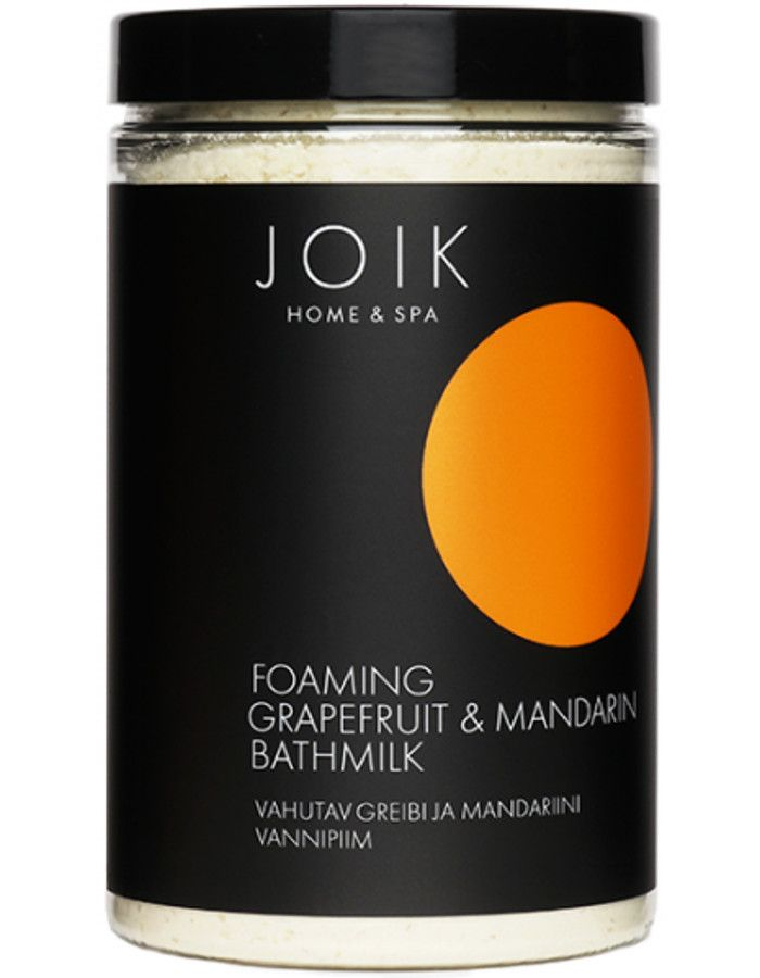 Joik Home & Spa Foaming Grapefruit & Mandarin Bathmilk 400gr