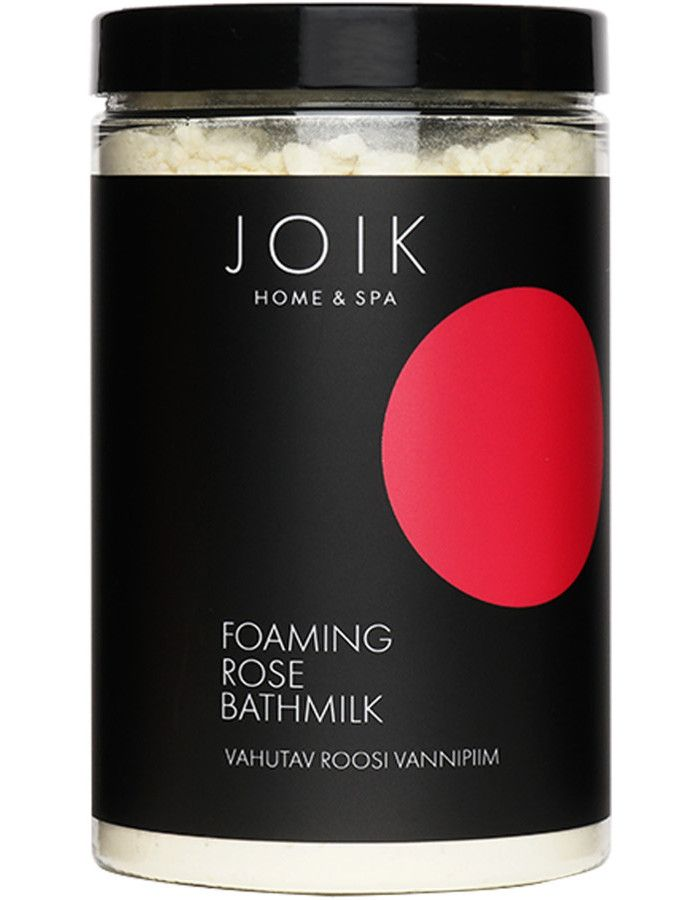 Joik Home & Spa Foaming Rose Bathmilk 400gr