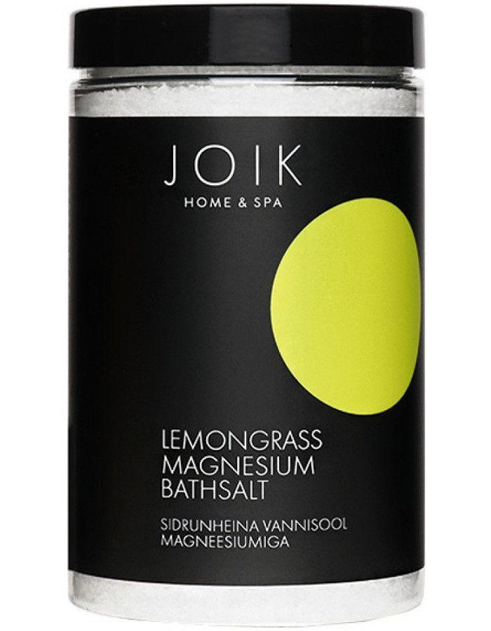 Joik Home & Spa Lemongrass Magnesium Bathsalt 500gr