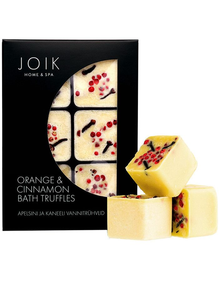 Joik Home & Spa Orange & Cinnamon Bath Truffels 6st
