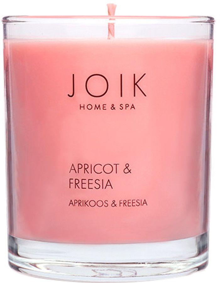 Joik Home & Spa Soja Wax Geurkaars Apricot & Fresia