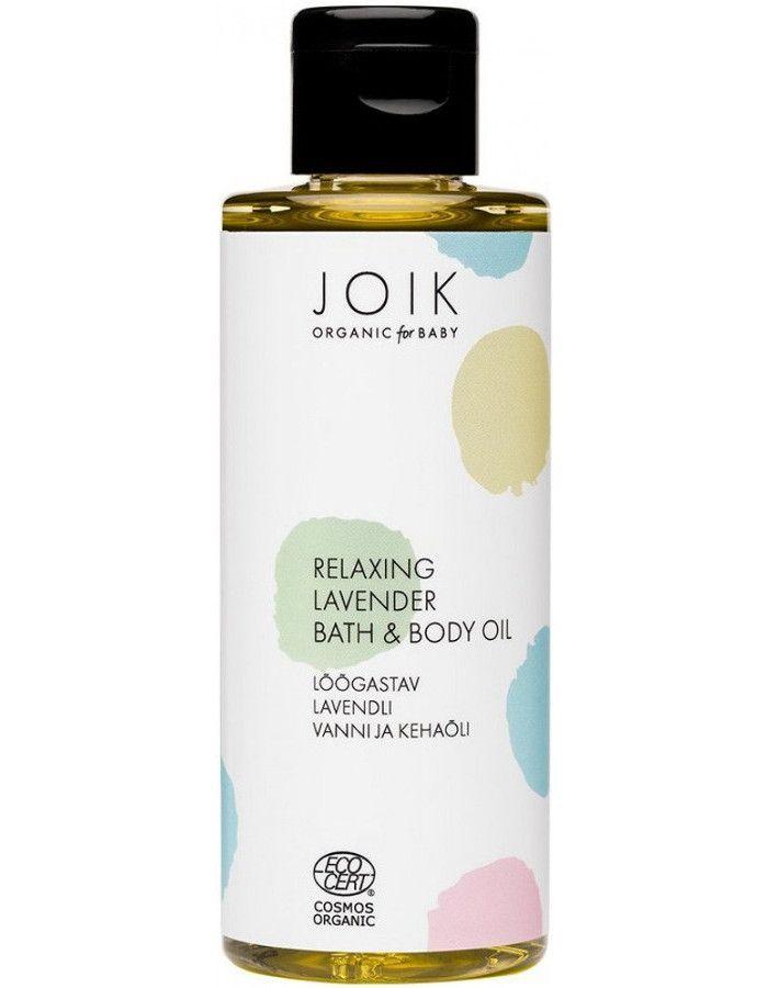 Joik Organic Baby Relaxing Lavender Bath & Body Oil 100ml