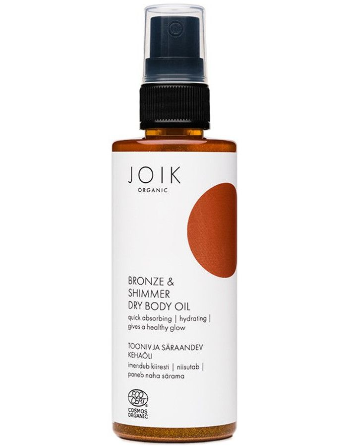 Joik Organic Bronze & Shimmer Dry Body Oil 100ml