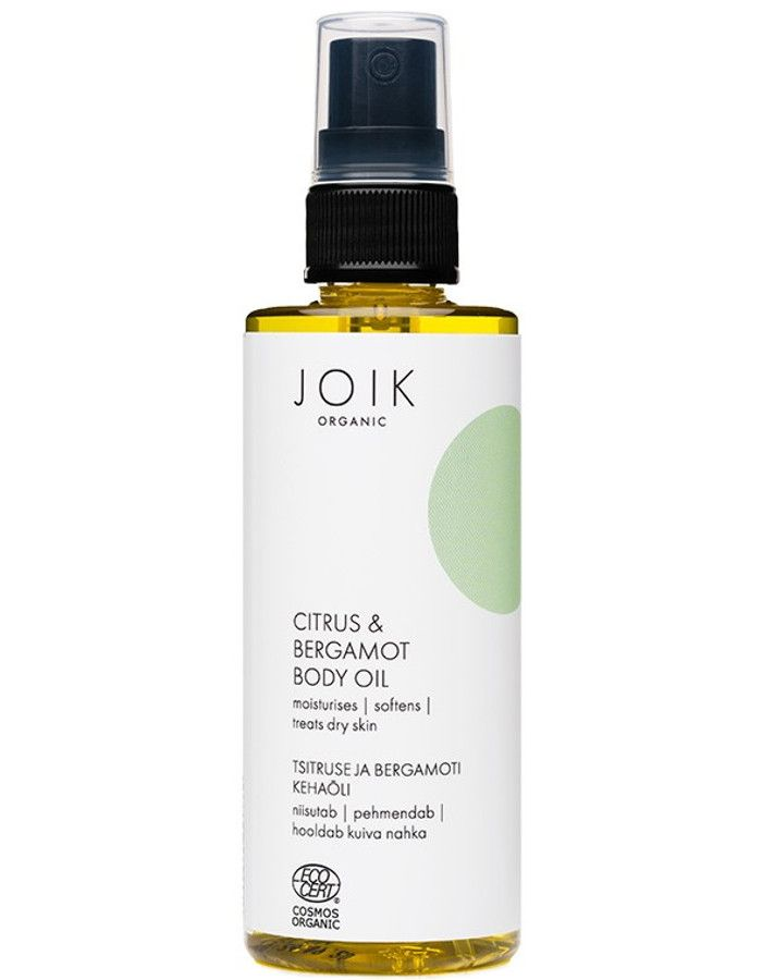 Joik Organic Citrus & Bergamot Body Oil 100ml