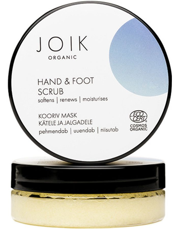 Joik Organic Hand & Foot Scrub 75ml