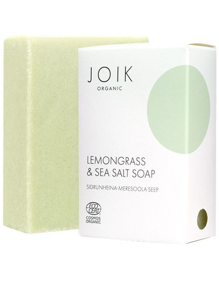 Joik Organic Lemongrass & Sea Salt Soap 100gr