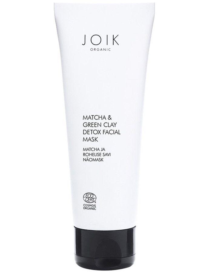 Joik Organic Matcha & Green Clay Detox Facial Mask 75ml
