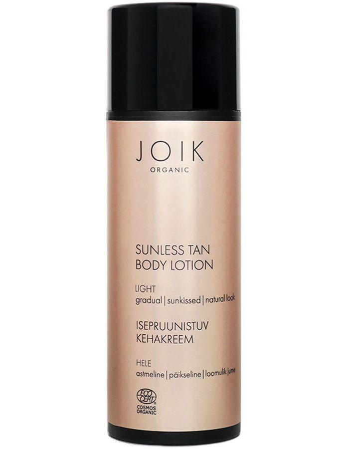 Joik Organic Sunless Tan Body Lotion Light 100ml