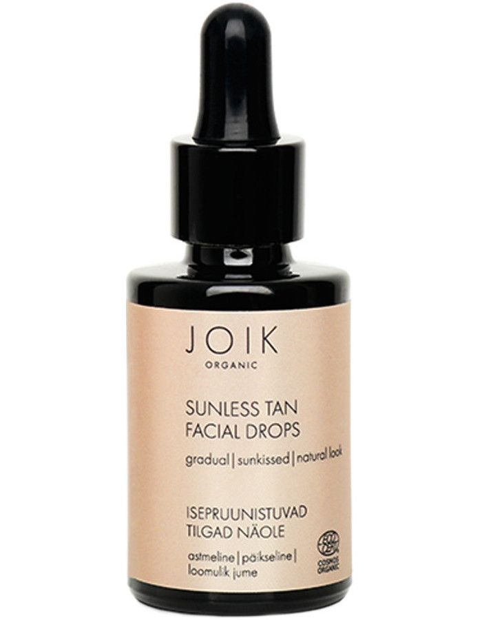 Joik Organic Sunless Tan Facial Drops 30ml