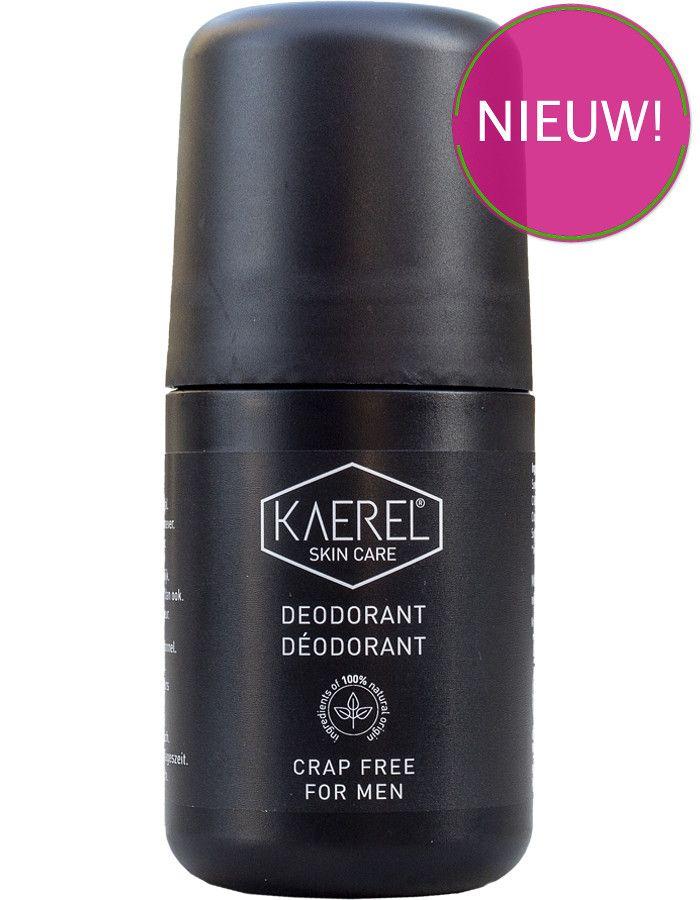 Kaerel Skincare No Crap Deodorant Roller Voor Mannen 75ml