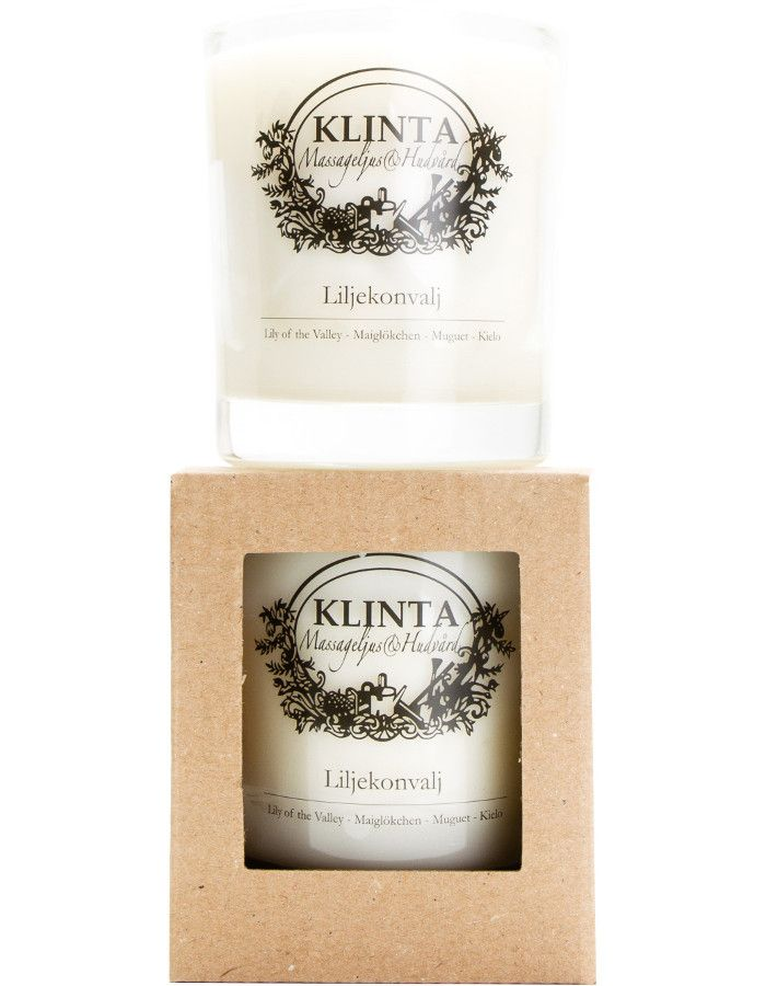 Klinta 100% Natuurlijke Massagekaars 45 Branduren Lily Of The Valley