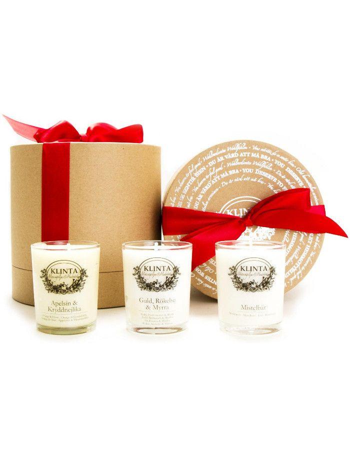 Klinta Christmas Collection Cadeau Set 3-Delig