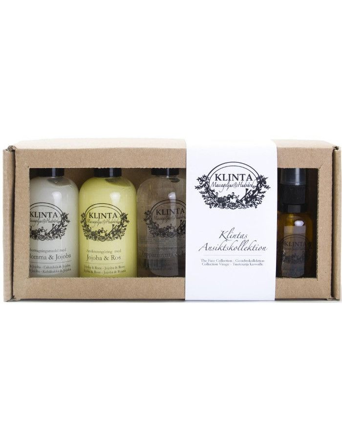 Klinta Natural Facecare Collection Giftset 4 Delig