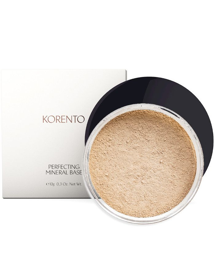 Korento Perfecting Mineral Base Make-up Powder Warm 01