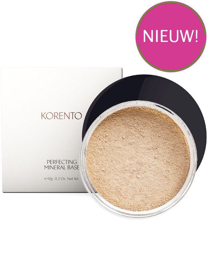 Korento Perfecting Mineral Base Make-up Powder Warm 01