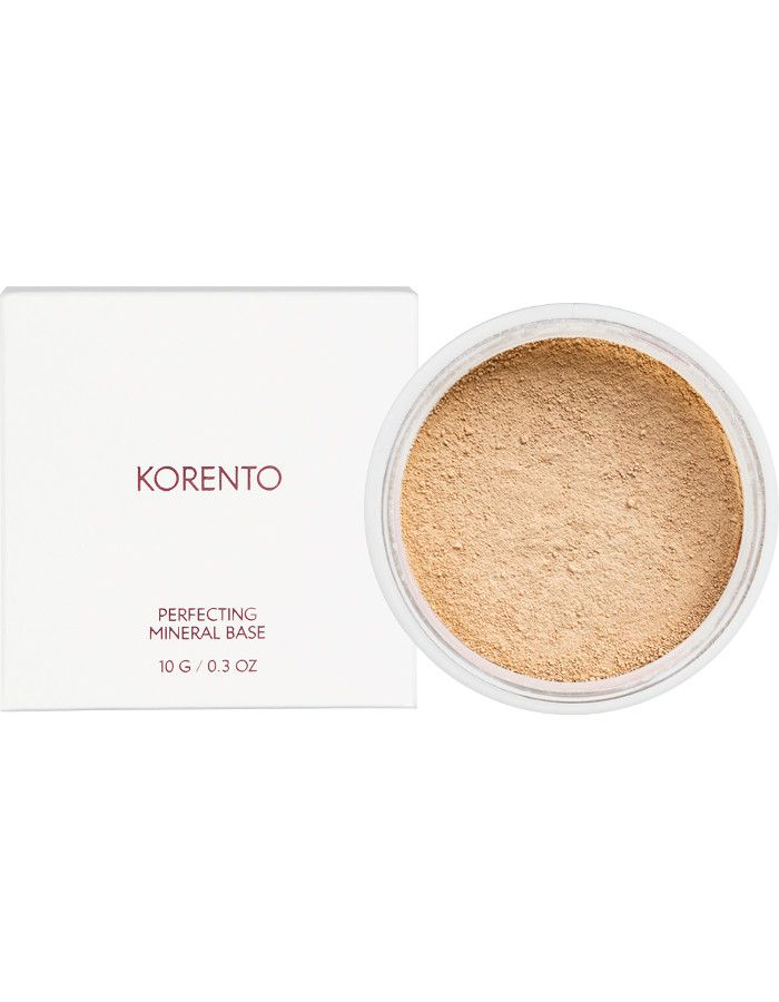 Korento Perfecting Mineral Base Make-up Powder Warm 02