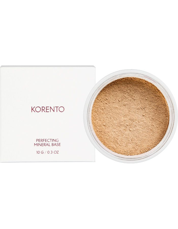 Korento Perfecting Mineral Base Make-up Powder Warm 03