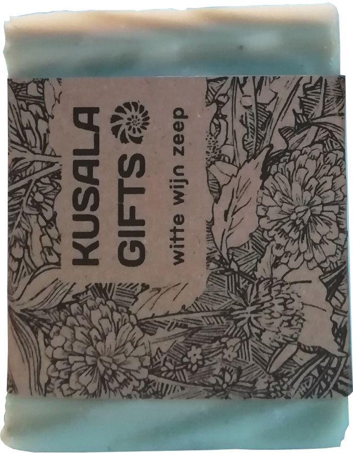 Kusala Gifts Natuurlijke Zeep Witte Wijn 100gr