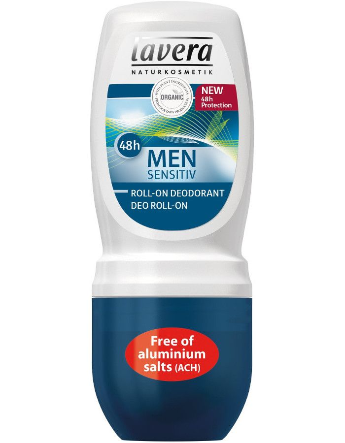 Lavera 24H Deodorant Roller Organic Men Sensitiv 50ml
