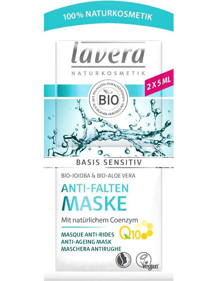 Lavera Basis Sensitiv Anti Aging Masker Q10 2x5ml