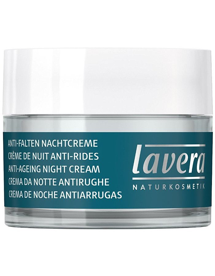Lavera Basis Sensitiv Anti Aging Night Cream Q10 50ml