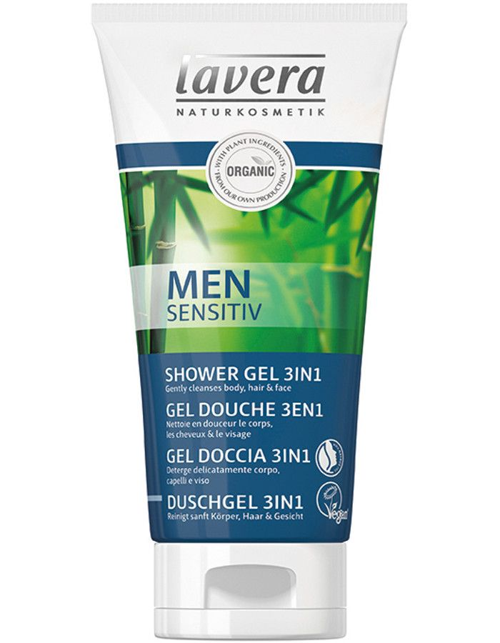 Lavera Bio Organic Men Sensitive Showergel 3in1 200ml