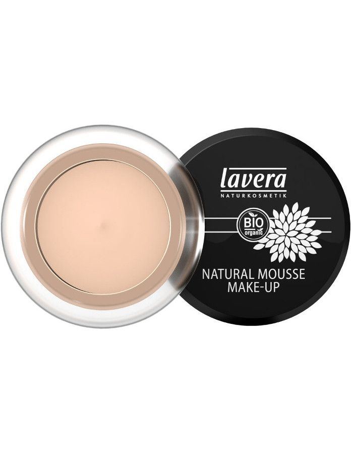 Lavera Bio Organic Natural Mousse Make-up 01 Ivory