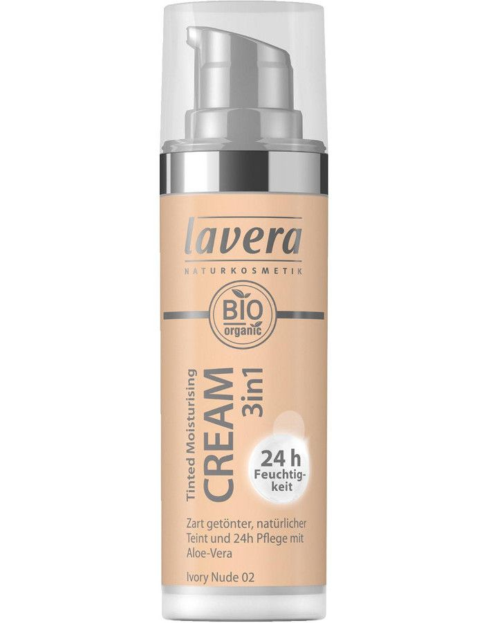 Lavera Bio Organic Tinted Moisturizing Cream 3in1 02 Ivory Nude 30ml