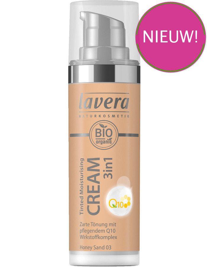 Lavera Bio Organic Tinted Moisturizing Cream 3in1 Q10 03 Honey Sand 30ml