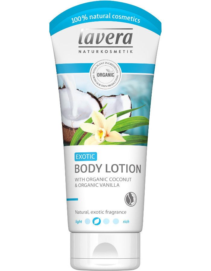 Lavera Organic Coconut & Vanilla Exotic Body Lotion 200ml