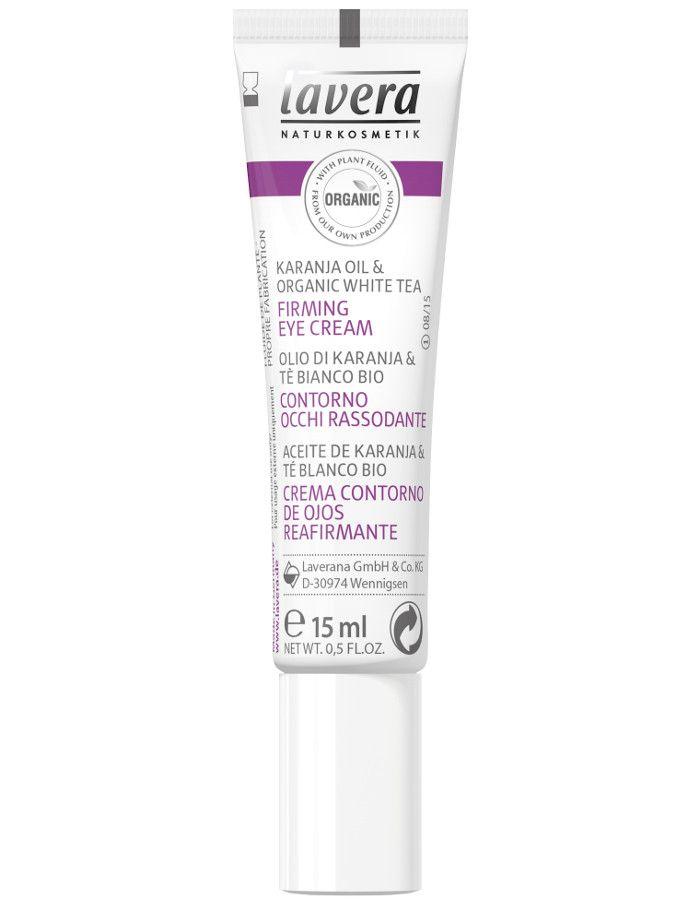 Lavera Organic Firming Eye Cream Karanja Olie 15ml