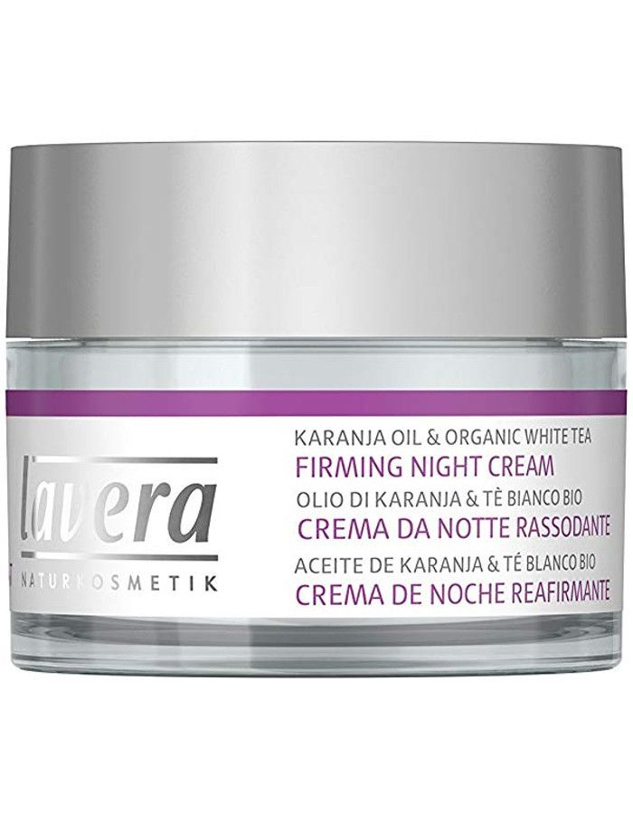 Lavera Organic Firming Night Cream Karanja Olie 50ml