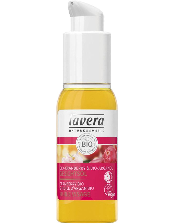 Lavera Organic Regenerating Cranberry & Argan Oil Gezichtsolie 30ml