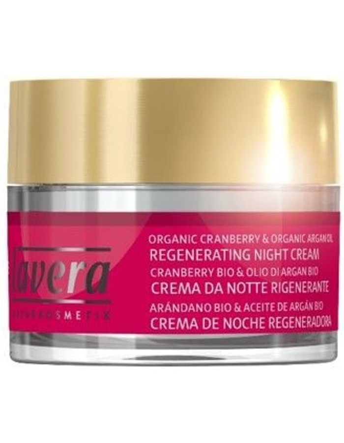 Lavera Organic Regenerating Cranberry & Argan Oil Nachtcreme 50ml