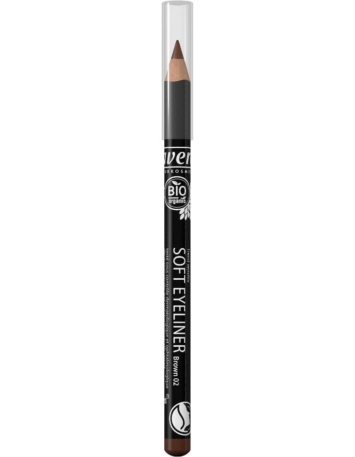 Lavera Organic Soft Eyeliner Oogpotlood 02 Brown