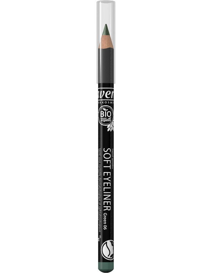Lavera Organic Soft Eyeliner Oogpotlood 06 Green