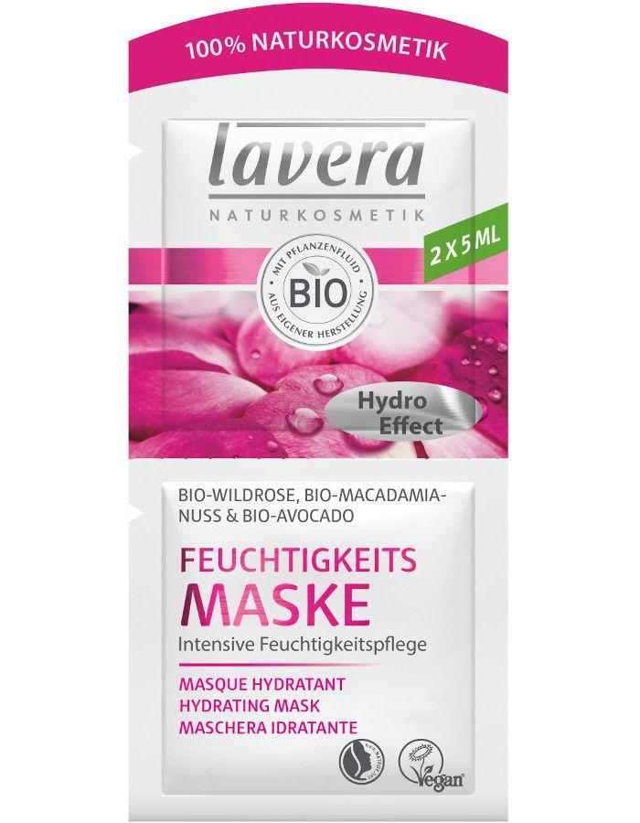 Lavera Organic Wild Rose Hydrating Masker 2x5ml