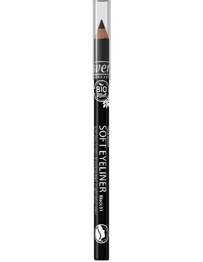 Lavera Organic Soft Eyeliner Oogpotlood 01 Black