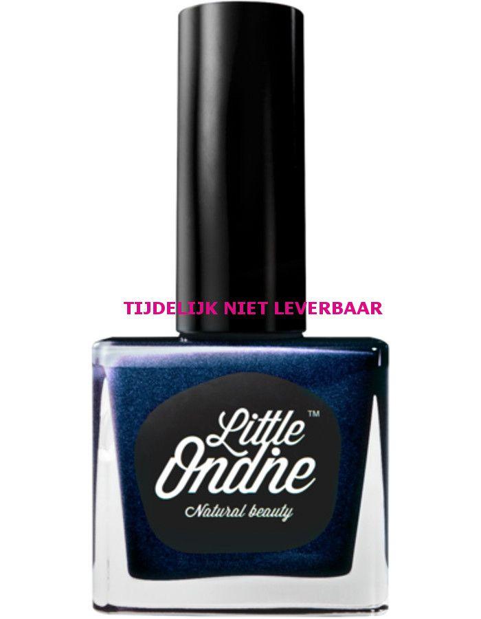 Little Ondine Natuurlijke Peel Off Nagellak Op Waterbasis L005 Jubilee Metallic Dark Blue