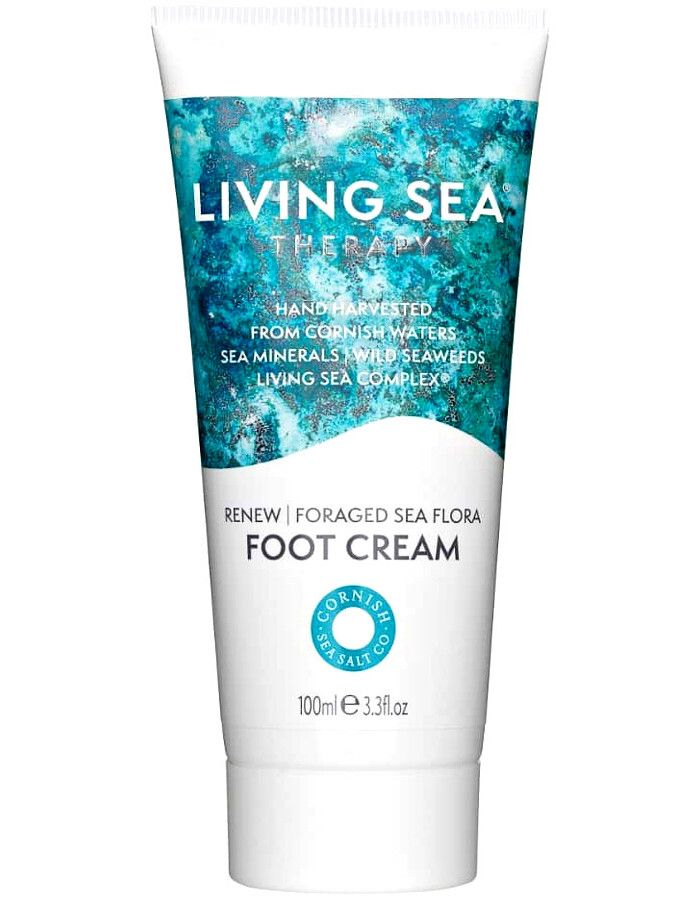 Living Sea Therapy Renew Foraged Sea Flora Foot Cream 100ml