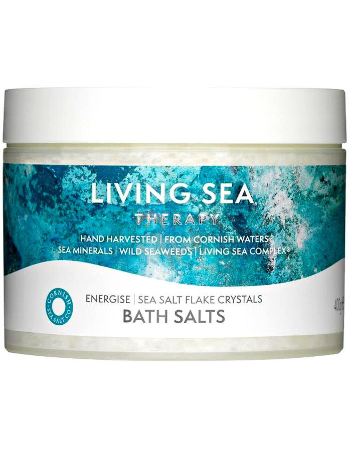 Living Sea Therapy Sea Salt Flake Crystals Energise Badzout 400gr
