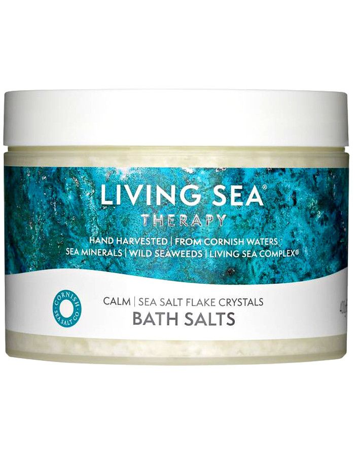 Living Sea Therapy Sea Salt Flake Crystals Calm Badzout 400gr