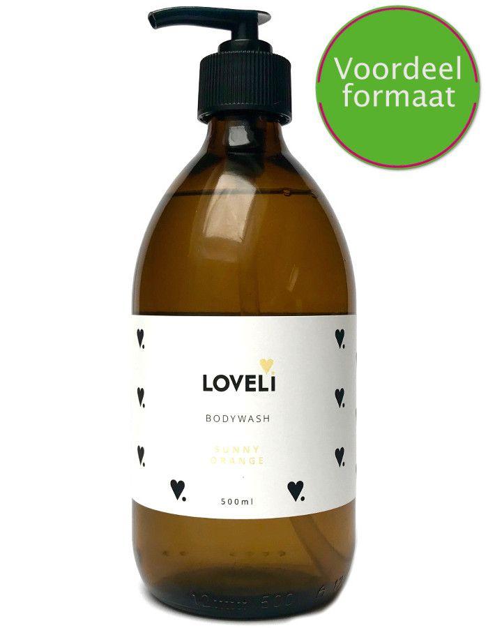 Loveli Bodywash Sunny Orange Refill 500ml
